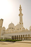 Sheikh Zayed Mosque in Abu Dhabi City Royalty Free Stock Photo