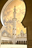 Sheikh Zayed Mosque in Abu Dhabi City Royalty Free Stock Images