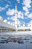 Sheikh Zayed Mosque in Abu Dhabi City Royalty Free Stock Photography