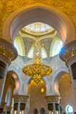Sheikh Zayed Mosque, Abu Dhabi, Emirati Arabi Uniti Fotografia Stock