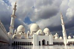 Sheikh Zayed Mosque - Abu Dhabi, Emirats Arabes Unis Photo stock