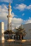 Sheikh Zayed Mosque Abu Dhabi, Förenade Arabemiraten Arkivbilder