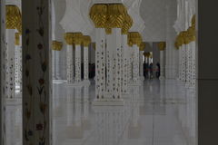 Sheikh Zayed Mosque in Abu Dhabi stock image