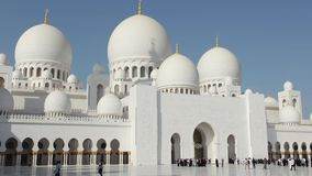 Sheikh Zayed Mosque in Abu Dhabi Royalty Free Stock Photo