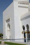 Sheikh Zayed Mosque Abu Dhabi Stock Photography