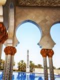 Sheikh Zayed Mosque Abu Dhabi-Sonderkommando Stockbilder