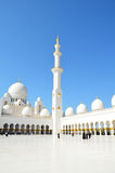 Sheikh Zayed Mosque in Abu Dhabi, UAE Stock Photography