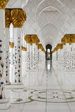 Sheikh Zayed mosque at Abu-Dhabi, UAE Royalty Free Stock Photo