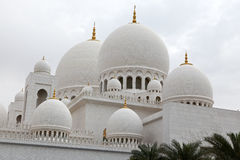 Sheikh Zayed mosque at Abu-Dhabi, UAE Stock Photos