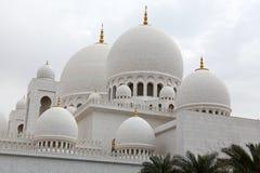 Sheikh Zayed mosque at Abu-Dhabi, UAE Stock Photos