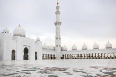 Sheikh Zayed mosque at Abu-Dhabi, UAE Royalty Free Stock Photo