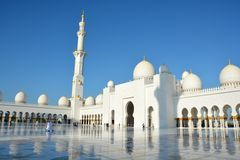 Sheikh Zayed Mosque in Abu Dhabi Royalty Free Stock Image