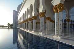 Sheikh Zayed Mosque in Abu Dhabi Stock Photos