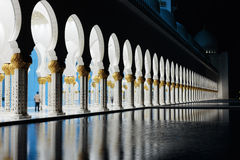 Sheikh Zayed Mosque, Abu Dhabi, UAE Royalty Free Stock Image