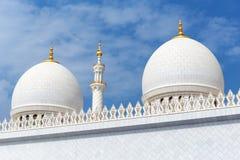 Sheikh Zayed Mosque, Abu Dhabi, UAE Lizenzfreie Stockbilder