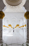 Sheikh Zayed Mosque, Abu Dhabi, UAE Lizenzfreies Stockbild