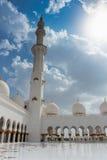 Sheikh Zayed Mosque, Abu Dhabi, UAE Stockfoto