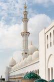 Sheikh Zayed Mosque, Abu Dhabi, UAE Lizenzfreie Stockfotos
