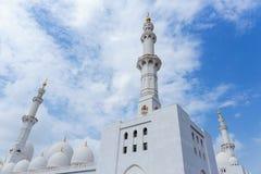 Sheikh Zayed Mosque, Abu Dhabi, UAE Stockbild