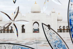 Sheikh Zayed mosque at Abu-Dhabi, UAE Royalty Free Stock Photos
