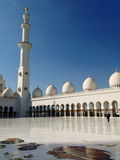 Sheikh Zayed Mosque in Abu Dhabi Royalty Free Stock Photos