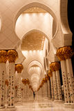 Sheikh zayed mosque in Abu Dhabi, UAE, Middle East Stock Image