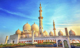 Sheikh zayed mosque, Royalty Free Stock Photography