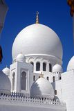 Sheikh zayed mosque, abu dhabi, uae, middle east. Main dome, sheikh zayed mosque at abu dhabi, uae, middle east Royalty Free Stock Photo