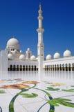 Sheikh Zayed mosque in Abu Dhabi, UAE Stock Photography