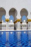 Sheikh Zayed mosque in Abu Dhabi, UAE Royalty Free Stock Image