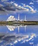 Sheikh Zayed mosque in Abu Dhabi, UAE Stock Photo