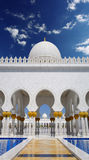 Sheikh Zayed mosque in Abu Dhabi, UAE Royalty Free Stock Photo