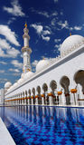 Sheikh Zayed mosque in Abu Dhabi, UAE Royalty Free Stock Photography
