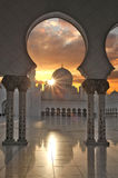 Sheikh Zayed mosque in Abu Dhabi, UAE Royalty Free Stock Photos