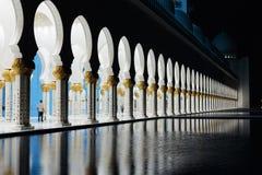 Sheikh Zayed Mosque, Abu Dhabi, UAE Royalty Free Stock Image