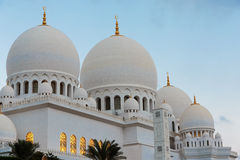 Sheikh Zayed Mosque, Abu Dhabi, UAE Royalty Free Stock Photography