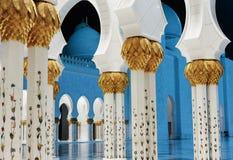 Sheikh Zayed Mosque, Abu Dhabi, UAE Stock Photos