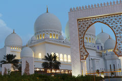 Sheikh Zayed Mosque, Abu Dhabi, UAE Stock Photos