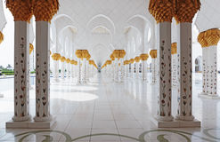 Sheikh Zayed Mosque, Abu Dhabi, UAE Stock Photo