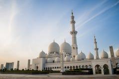 Sheikh Zayed Mosque at Abu-Dhabi, UAE, Uniter Arab Emirates Royalty Free Stock Photography