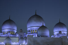 Sheikh Zayed Mosque Abu Dhabi Stock Photos