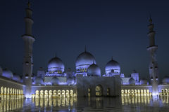 Sheikh Zayed Mosque Abu Dhabi Royalty Free Stock Photo