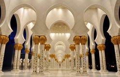 Sheikh Zayed Mosque, Abu Dhabi, United Arab Emirates royalty free stock photos