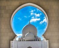 Sheikh Zayed Mosque, Abu Dhabi, Vereinigte Arabische Emirate Lizenzfreie Stockbilder