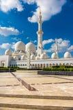 Sheikh Zayed Mosque, Abu Dhabi, Vereinigte Arabische Emirate Lizenzfreies Stockfoto