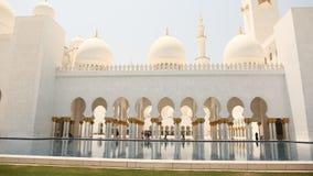 Sheikh Zayed Mosque, Abu Dhabi, Vereinigte Arabische Emirate Stockbilder