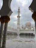 Sheikh Zayed Mosque, Abu Dhabi, Vereinigte Arabische Emirate Stockfotos