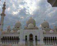 Sheikh Zayed Mosque, Abu Dhabi, Vereinigte Arabische Emirate Stockbild