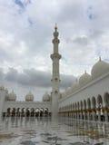 Sheikh Zayed Mosque, Abu Dhabi, Vereinigte Arabische Emirate Stockfoto