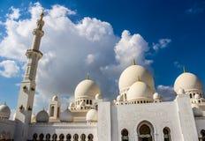 Sheikh Zayed Mosque, Abu Dhabi, Vereinigte Arabische Emirate Lizenzfreie Stockfotos
